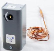 Johnson Controls A19ABC-74 -30/100F 6'Cap Spdt Temperature Control