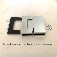 180? Chrome Shower Hinge