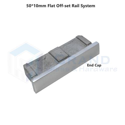 end cap for flat rail