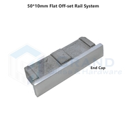 end cap for flat rail