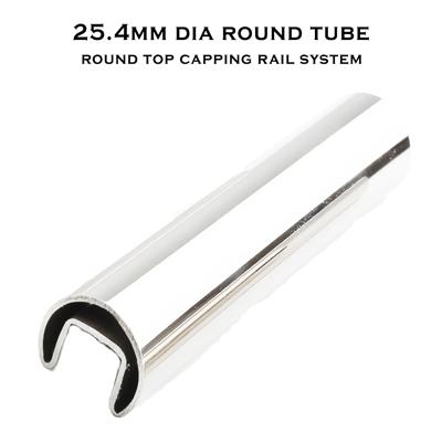 25.4 Diam Slot Round Tube (316 S/S Mirror)