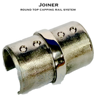 Joiner for 38.1mm Dia Round Top Capping Rail