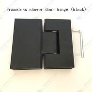 180  Black Shower Hinge
