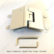 135 Chrome Shower Hinge for angle hinge shower
