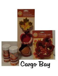 WILTON COOKIE CUTTER FALL SET with FREE SHIPPING