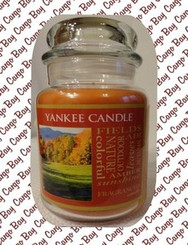 YANKEE CANDLE AUTUMN FIELDS LARGE JAR 22 OZ FALL SCENT