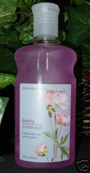 BATH & BODY WORKS PEONY BUBBLE BATH 10 OZ