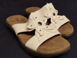 Womens White Casual Sandals with Free Shipping