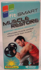 Renew Life Fit Smart Muscle Restore Diet Capsules with Free Shipping