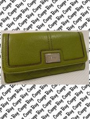 RELIC GREEN WALLET with FREE SHIPPING