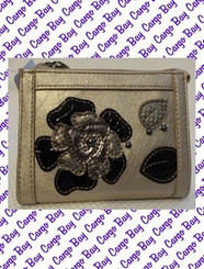 RELIC GOLD METALLIC EMBELLISHED WALLET with FREE SHIPPING