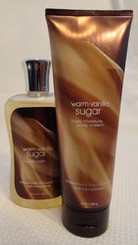 Warm Vanilla Sugar Bubble Bath and Triple Moisture Body Cream Bath & Body Works