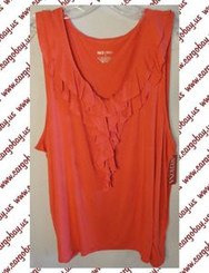 Orange Knit Top Plus Size 4x with Free Shipping
