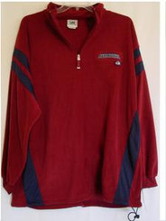 NHL Colorado Avalanche Fleece Pullover Jacket by Lee Men's Large
