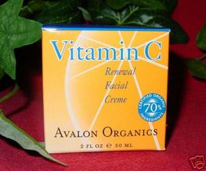 AVALON ORGANICS VITAMIN C RENEWAL FACIAL CREME 2 FL OZ