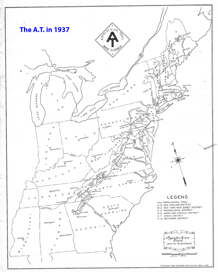 Appalachian Trail New England Map.The Last 2 Miles Appalachian Trail Conservancy