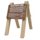 Replica Katahdin Sign and Photo Holder