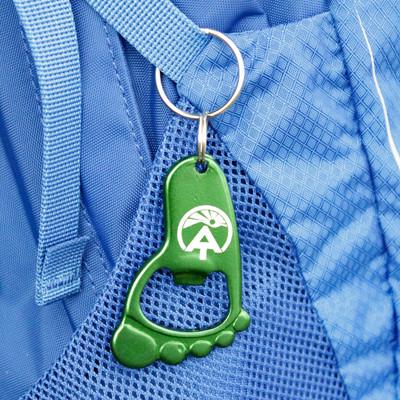 Barefoot Keychain and Bottle Opener