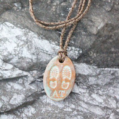 A.T. Boot Print Pendant
