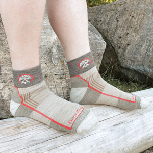 ATC Darn Tough 1/4 Socks - Save 47%