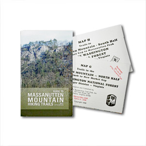 Massanutten Mountain Guide Book and Maps--50% Off!