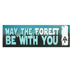 May the Forest Be with You Magnet