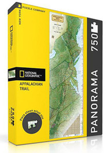 Appalachian Trail Poster Map Puzzle
