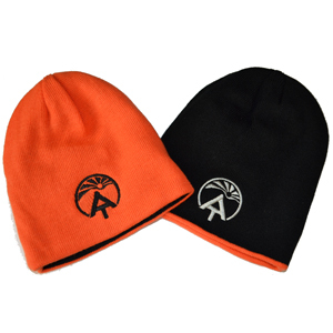 Reversible Blaze-Orange Beanie