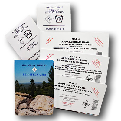 Set 05 - Pennsylvania Guide with Maps - Appalachian Trail Conservancy