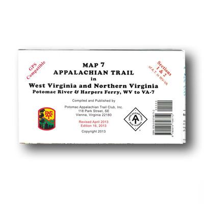 Northern Virginia Map North Appalachian Trail Conservancy