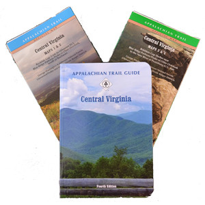 Set 08 - Central Virginia Guide Book and Maps