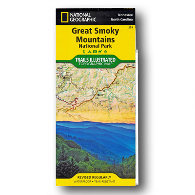 Great Smoky Mountains National Park Map - Appalachian Trail Conservancy