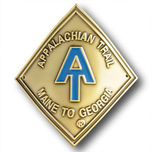 Show your support for America's premier footpath no matter where you hike by tacking this A.T. diamond medallion to your hiking stick.