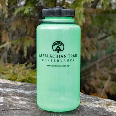 a77e77410d 32oz Nalgene water bottle bearing the Appalachian Trail Conservancy logo.  See 2 more pictures