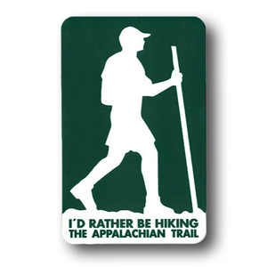 """""""I'd rather be hiking the Appalachian Trail."""""""