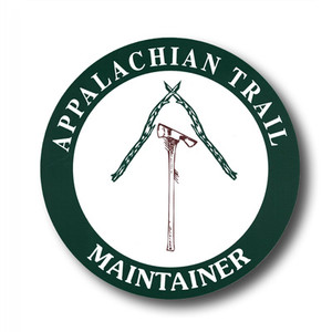 "Exclusive to the ATC, this 4.5"" decal is for those who show pride in helping to maintain a section of the Appalachian Trail with sweat equity."