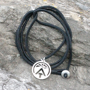 Celebrate the Appalachian Trail with this sunrise ATC logo pendant.