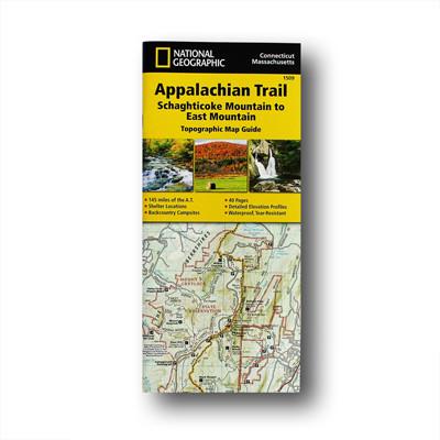 Topographic Map Ct.Schaghticoke Mountain To East Mountain Ct Ma Appalachian Trail