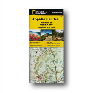 The Hanover to Mount Carlo Topographic Map Guide makes a perfect traveling companion when traversing the New Hampshire section of the Appalachian Trail.