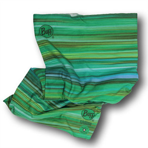 This striped Buff provides invisible, odorless repellent that lasts through 70 washes to ward off ticks, mosquitoes, flies, no-see-ums, ect.