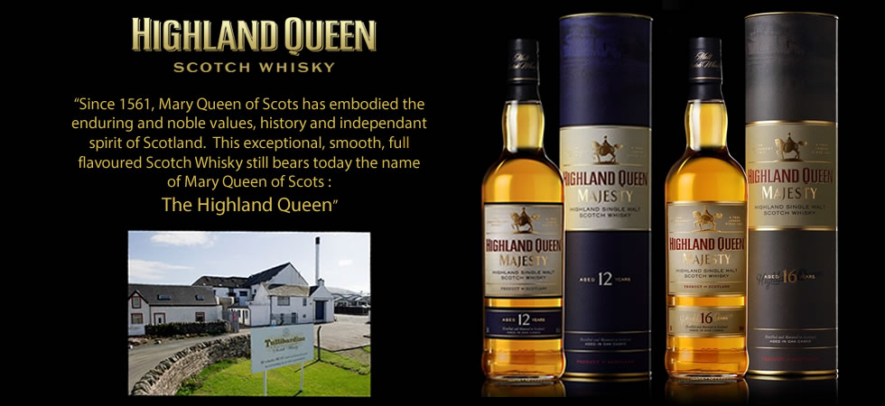 Highland Queen Scotch Whisky