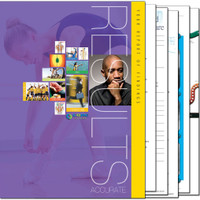 CLA Core Score Report Folder bundled with our popular report inserts.