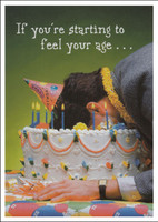 Feeling Your Age Postcard