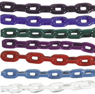 Anchor Chain, 1/4 X 4', Blue PVC