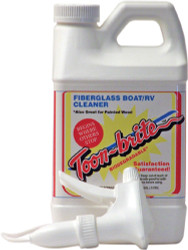 Fiberglass Boat Cleaner, 1/2 Gallon