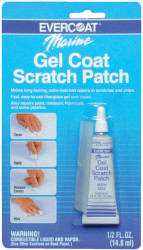 Gel Coat Kit, Buff White