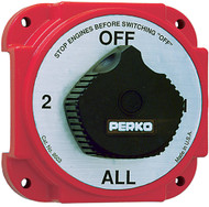 Battery Switch w/Alt Disc, Heavy Duty