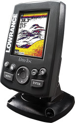 Elite-3x Fishfinder, 83/200 kHz