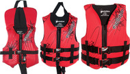 """Youth, Red/Black, 50-90 lbs., 25-29"""" Chest"""