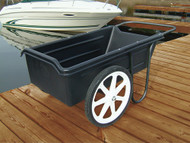 """Dock Cart with 20"""" Pneumatic (inflatable) Wheels"""